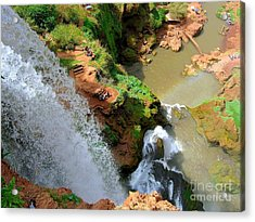 Ouzoud Falls Morocco Acrylic Print by Sophie Vigneault