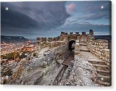 Ovech Fortress Acrylic Print by Evgeni Dinev