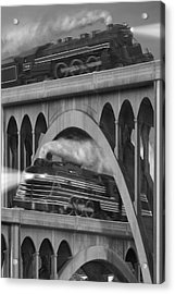 Over And Under Acrylic Print by Mike McGlothlen