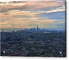 Over East New York Acrylic Print