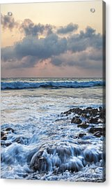Over Rocks Acrylic Print by Jon Glaser