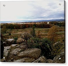 Over The Battle Field Of Gettysburg Acrylic Print
