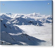 Over The Clouds Acrylic Print
