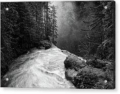 Over The Falls Acrylic Print