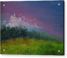 Over The Horizon Acrylic Print by Margie Ridenour