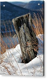 Over The Hudson  Acrylic Print by JC Findley