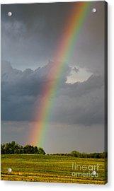 Over The Rainbow Acrylic Print by Deb Kline