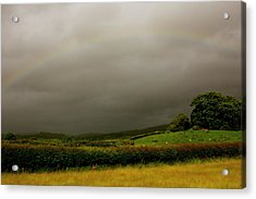 Over The Rainbow Acrylic Print by Theresa Selley