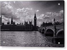 Over Westminster Bridge Acrylic Print