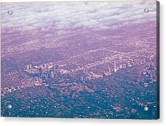 Over Wilshire And Rodeo Acrylic Print