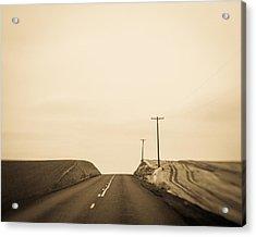 Over Yonder Acrylic Print by Takeshi Okada