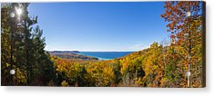 Overlook From Pierce Stocking Drive Acrylic Print