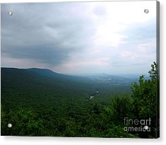 Overlook Acrylic Print by Melissa Stoudt