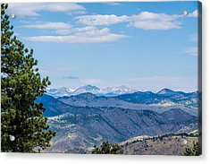 Acrylic Print featuring the photograph Overlook Mountain  by Jeanne May