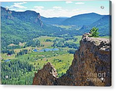 Acrylic Print featuring the photograph Overlook by William Wyckoff