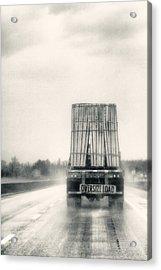 Oversized Load Acrylic Print by Robert  FERD Frank