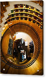 Overview Of The Lintendant Wine Shop Acrylic Print by Panoramic Images