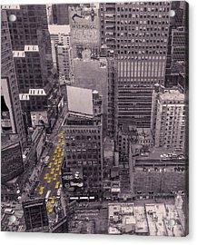 Overwhelm Me New York  Acrylic Print