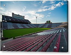 Owen Field  Acrylic Print by Nathan Hillis
