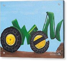 Owen Acrylic Print by Tracie Davis