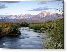 Owens River Sunrise Acrylic Print