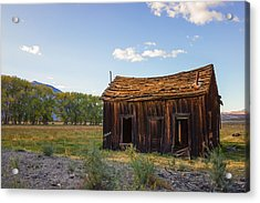 Owens Valley Shack Acrylic Print