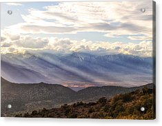 Owens Valley Sunset Acrylic Print