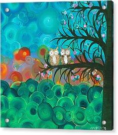 Owl Couples - 02 Acrylic Print