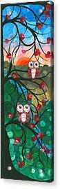 Owl Couples - 03 Acrylic Print