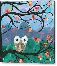 Owl Expressions - 03 Acrylic Print
