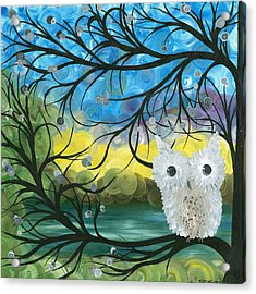 Owl Expressions 04 Acrylic Print