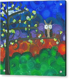 Owl Singles - 04 Acrylic Print