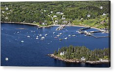 Owls Head, Maine Me Acrylic Print by Dave Cleaveland