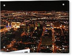 Own The Night Acrylic Print by Michael Davis