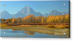 Oxbow Bend Acrylic Print by Kathleen Struckle