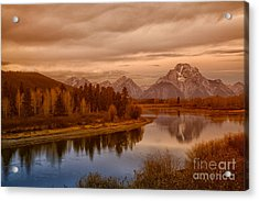 Oxbow Morning Acrylic Print