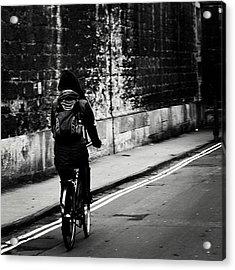 #oxford #cycling #wall Acrylic Print