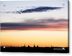 Oxford Dreaming Spires Acrylic Print by Tim Gainey