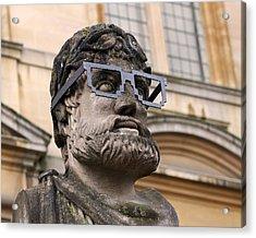 Oxford Geek Acrylic Print by Rona Black