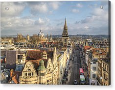 Oxford High Street Acrylic Print