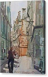 Oxford Lane Acrylic Print