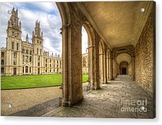 Oxford University - All Souls College 2.0 Acrylic Print