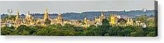 Oxford University Panorama Acrylic Print