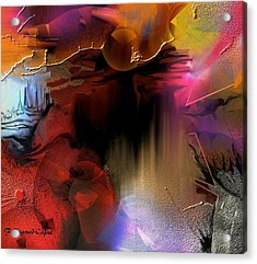 Oxocelhaya Acrylic Print by Francoise Dugourd-Caput