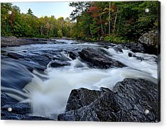 Oxtongue River Rapids Panoramic Acrylic Print