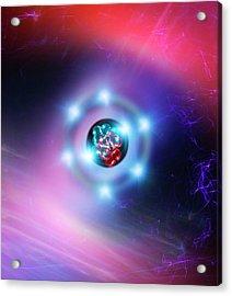 Oxygen Atom Acrylic Print by Richard Kail
