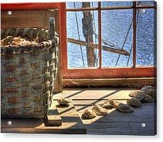 Oyster Basket Acrylic Print