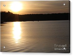 Oyster Bay Sunset Acrylic Print