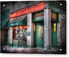Oyster House Acrylic Print by Lori Deiter