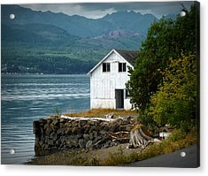 Old Oyster Shack Acrylic Print